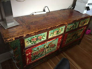 Stunning Chinese Antique Side Board