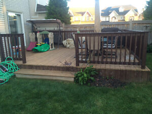 Great deck for sale