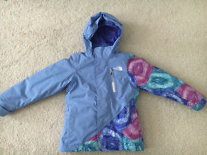 Girls Size 6 The North Face Abbey Tri-Climate 3 in 1 Winter Coat