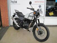 2018 ROYAL ENFIELD HIMALAYAN.8.9% APR 84.23 OVER 60M WITH A 99 POUNDS DEPOSIT