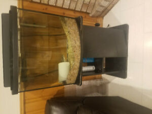 25 gallon fresh water bowed tank