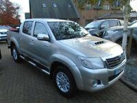 2012 62 Reg Toyota HiLux 3.0D-4D AUTO Invincible NO VAT (62000 Miles)