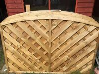 Fence panels x 10 Bargain price!