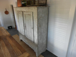 19th Century Rustic French Armoire