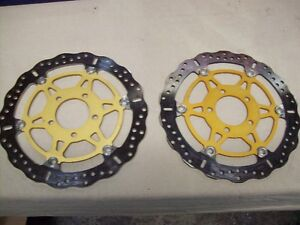 EBC front rotors for 03-04 1000 or 04-05 750
