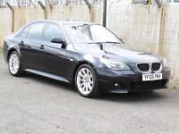 BMW 523 2.5 Auto 2005 i M Sport, Blue, Saloon,82 000 Miles, 6 Months AA Warranty
