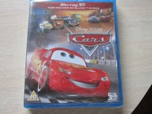 Cars 3Blue-ray 3D, also includes 2D Blu-Ray, still in plastic