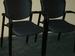 Used office chaires in good shape $50 and up stacking chairs$40 Regina Regina Area image 7
