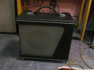 Early 60s no name all tube guitar amp.