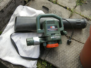 Leaf Blower and Vacuum, Electric