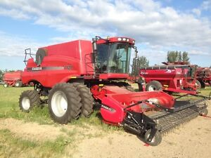 2011 CASE IH 7120 COMBINE WITH 3016 PICKUP