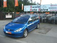 2004 PEUGEOT 307 SW ENVY 1.6L, 7 SEATER WITH FULL SERVICE HISTORY