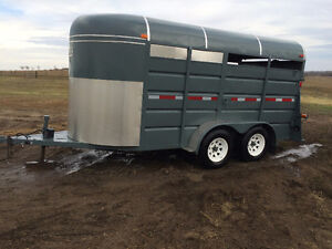 horse or stock trailer