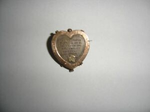 "Antique ""Mizpah"" Brooch"