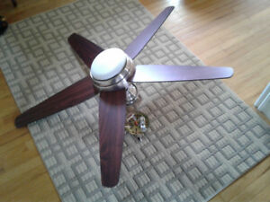 """Hunter"" brand name large ceiling fan for sale"