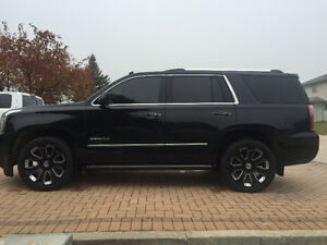 2015 GMC YUKON DENALI, 6.2L LOADED EXTENDED WARRANTY