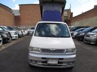 FRESH IMPORT MAZDA BONGO DIESEL AUTO ELEVATING ROOF CAMPER 4WD