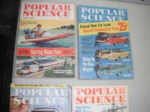Magazines (43) - Popular Science (26) and 17 Others 1951-72