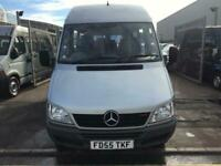 2006 MERCEDES SPRINTER 411 CDI MINIBUS IDEAL FOR CAMPER CONVERSION VERY TIDY FOR