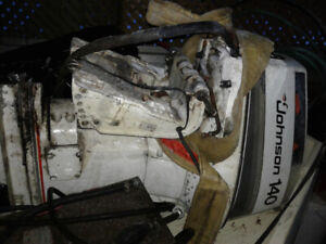 For Trade - A 140HP Johnson Outboard Motor