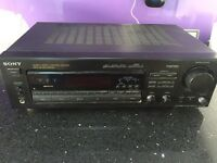 Sony FM/AM stereo receiver amplifier STR-D565