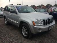 2006 JEEP GRAND CHEROKEE 3.0 CRD Limited Auto DIESEL MASSIVE SPEC