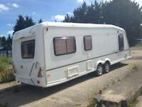 Lovely condition fixed bed caravan