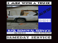 Garbage / Junk Removal call / text 204-930-9119