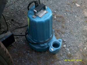 pompe submersible sump pump CRANE neuve 2 pouces