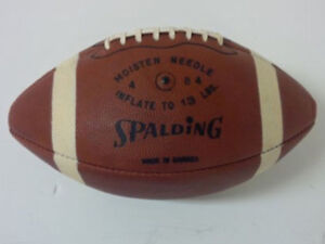 Looking to BUY CFL J5V Spalding football Regina Regina Area image 2