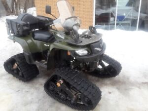 2012 Suzuki 750 King Quad AXi with power steering & Tracks