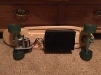 Electric Longboard similar to Boosted Board Brushless 20mph+ 15miles+ lithium battery