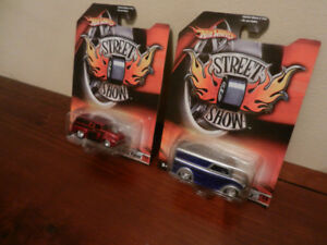 Hot Wheels Street Show Dairy Delivery and '56 Ford Panel HTF