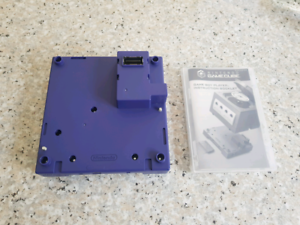 Nintendo Gamecube gameboy player and disc