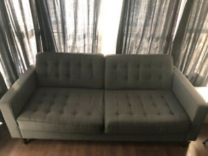 EQ3 Reverie Apartment Sofa for sale - previously owned - $399