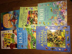 Children's books varying reading levels