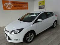 WHITE FORD FOCUS 1.6 ZETEC NAVIGATOR TDCI ***FROM £140 PER MONTH***