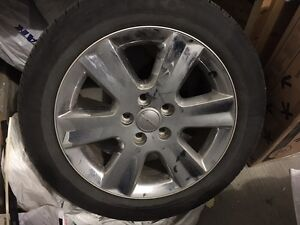 Dodge Journey A/T Tires 225/55R19 on Stock 19 inch Rims 1000 OBO Edmonton Edmonton Area image 2