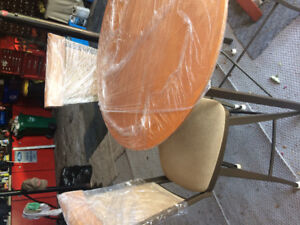 Bar Table and Chairs-New