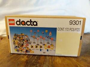 LEGO dacta 9301 Traffic Signs very rare NIB