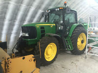 2009 John Deere 7330 w 16' Blade and Blower SNOW REMOVAL