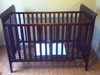 Crib for sale - basically new