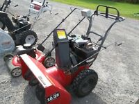 10 HP 28 inch cut noma snowblower ready to blow $500.00