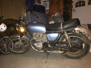 1972 HONDA CB350 - ENGINE REBUILD & ELECTRICAL WORK