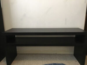 IKEA Lack console table, black