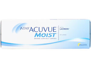 1 day Acuvue Moist Contact Lenses (D -3.75)