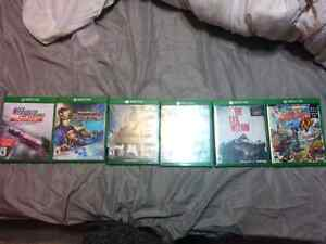 Xbox One Games for sell $20 -$40