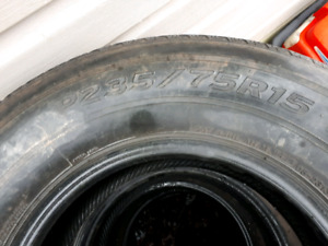 "Tires for Sale - 15"" / Truck and Car  -- $100 for ALL 6 Tires"