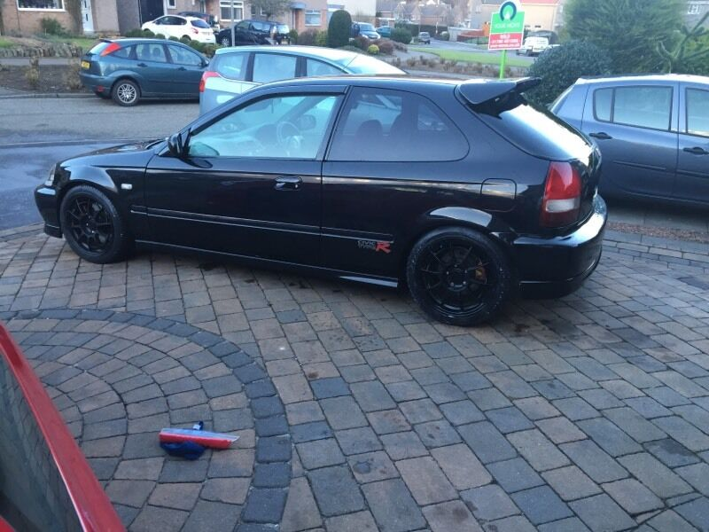 Honda Civic Ek9 Type R Facelift Black 2000 B18 S80