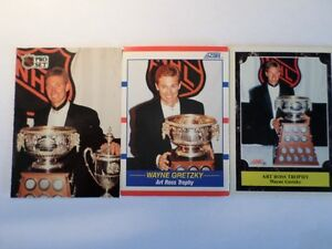 WAYNE GRETZKY   3-Hockey Cards          (VIEW OTHER ADS) Kitchener / Waterloo Kitchener Area image 1